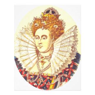 Queen Elizabeth I, QE1, The First Letterhead