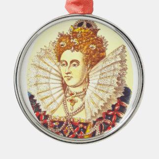 Queen Elizabeth I, QE1, The First Metal Ornament