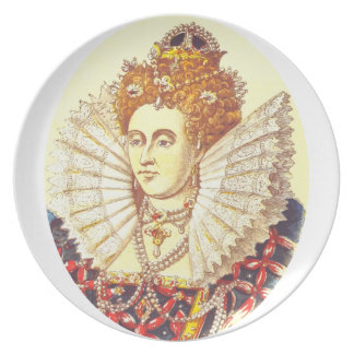 Queen Elizabeth I, QE1, The First Plate