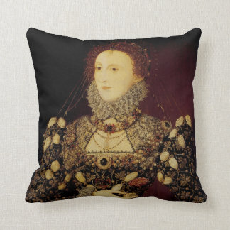Queen Elizabeth I Throw Pillow