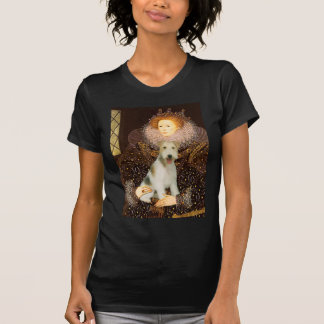 Queen Elizabeth I - Wire Fox Terrier #1 T-Shirt