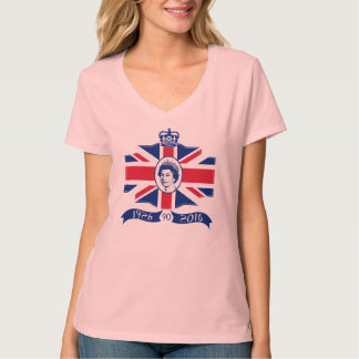 Queen Elizabeth II 90th Birthday 2016 Tee Shirt