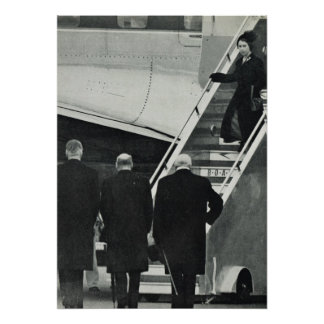 Queen Elizabeth II   after the death of George VI Poster