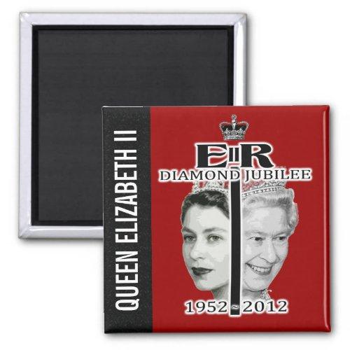 Queen Elizabeth II Jubilee Magnet magnets