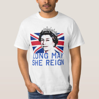 Queen Elizabeth II Long May She Reign T-Shirt