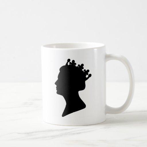 Queen Elizabeth II Coffee Mugs