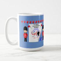 Queen Elizabeth II Of England 90th Birthday Coffee Mug