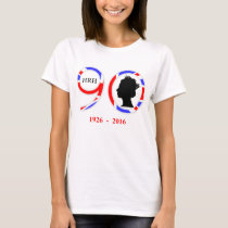 Queen Elizabeth II Of England 90th Birthday T-Shirt