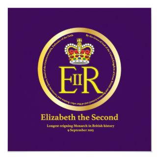 Queen Elizabeth II Reign Card