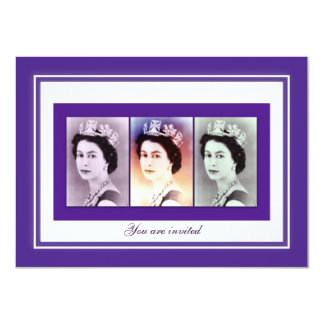 Queen Elizabeth II Reign Card