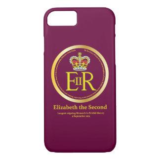 Queen Elizabeth II Reign iPhone 8/7 Case