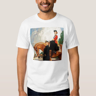 Queen Elizabeth II Tee Shirt