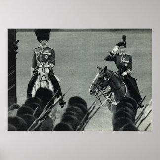 Queen Elizabeth II, Trooping the colour Poster