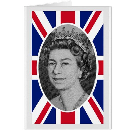 Queen Elizabeth Jubilee Portrait Card