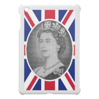 Queen Elizabeth Jubilee Portrait iPad Mini Cases