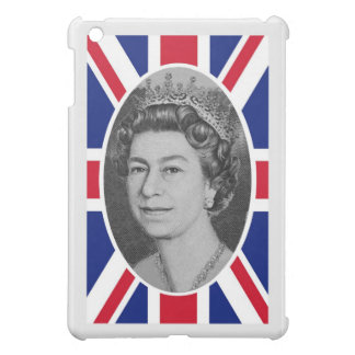 Queen Elizabeth Jubilee Portrait iPad Mini Cover