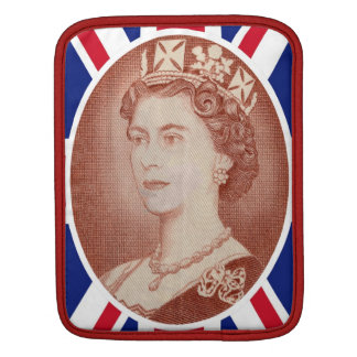 Queen Elizabeth Jubilee Portrait iPad Sleeve