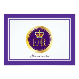Queen Elizabeth Longest Reign Medal Card