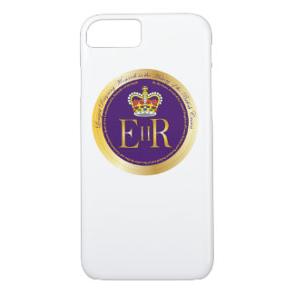 Queen Elizabeth Longest Reign Medal iPhone 8/7 Case