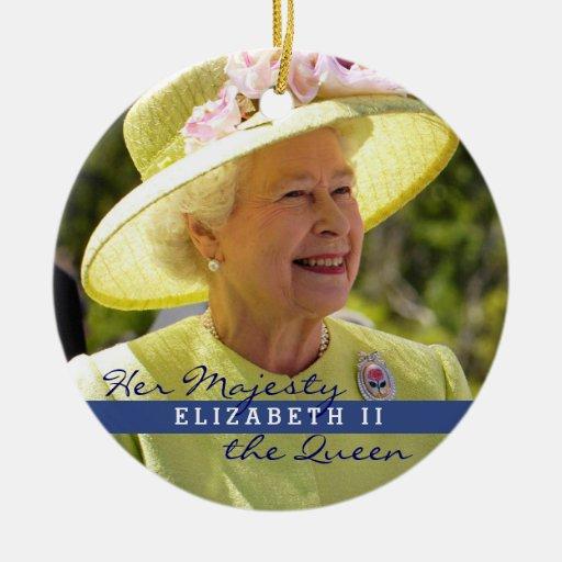Queen Elizabeth of England Ornaments