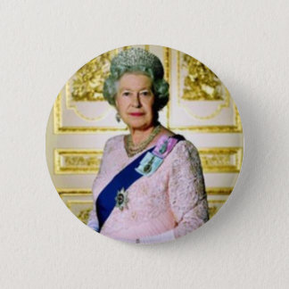 Queen Elizabeth Pinback Button