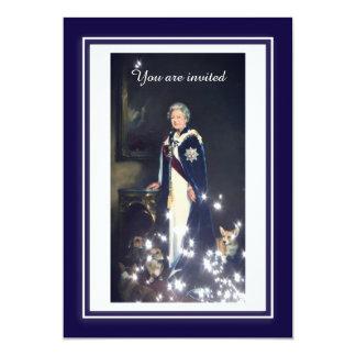 Queen Elizabeth Portrait Card