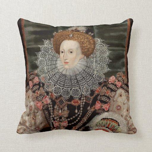 Queen Elizabeth the 1st pillow
