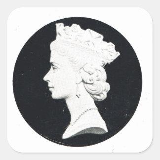 Queen Elizabzth II, Vivat regina Square Sticker