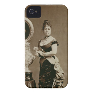 Queen Emma (1836-85) (sepia photograph) Case-Mate iPhone 4 Case