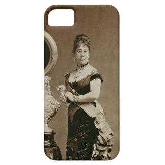 Queen Emma (1836-85) (sepia photograph) iPhone SE/5/5s Case