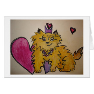 Queen Emmy Greeting Card