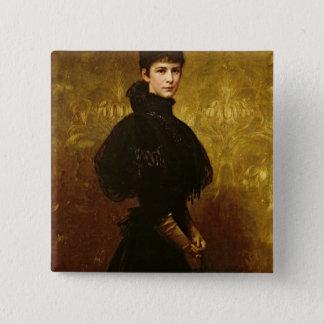 Queen Erzsebet Button