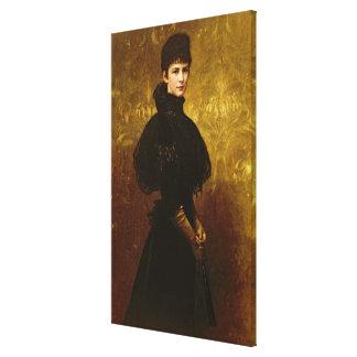 Queen Erzsebet Canvas Print