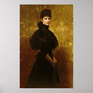 Queen Erzsebet Poster