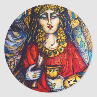 Queen Esther Classic Round Sticker