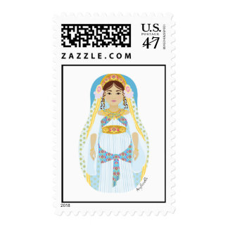 Queen Esther Matryoshka Stamps