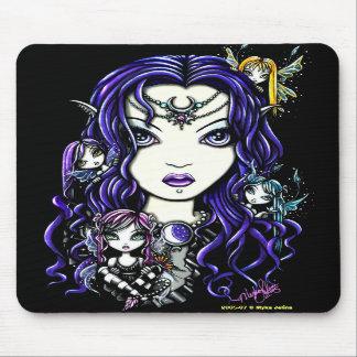 """Queen Fae"" Fairy Mousepad"