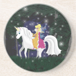 Queen Faery and Unicorn Forest Coaster
