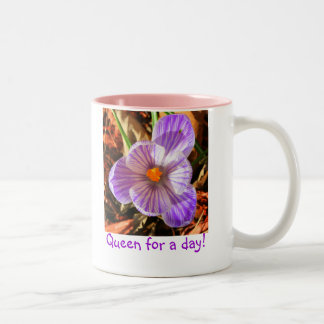 Queen for a day coffee mug