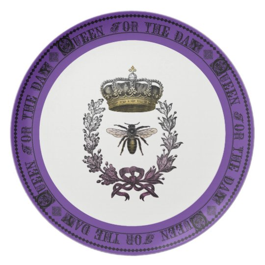 Queen for the Day Special Occasion Birthday Plate