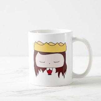queen girl coffee mug
