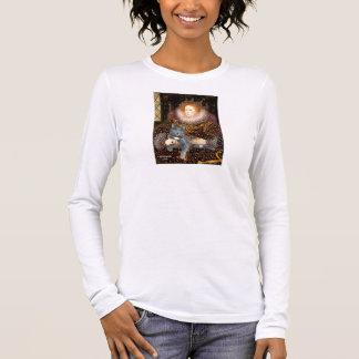 Queen - grey cat long sleeve T-Shirt