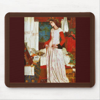 Queen Guinevere By William Morris (Best Quality) Mouse Pad