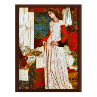 Queen Guinevere By William Morris (Best Quality) Post Card