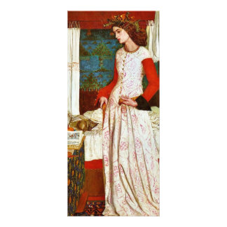 Queen Guinevere By William Morris (Best Quality) Customized Rack Card