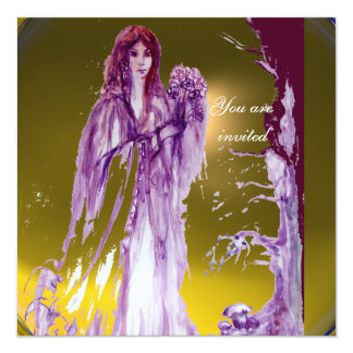 QUEEN GUINEVERE PERSONALIZED ANNOUNCEMENTS