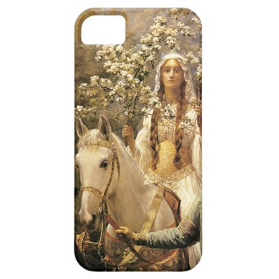 Queen Guinevere Maying iPhone 5 Case