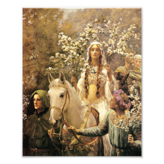 Queen Guinevere Maying Print Photo