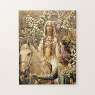 Queen Guinevere Maying Puzzle