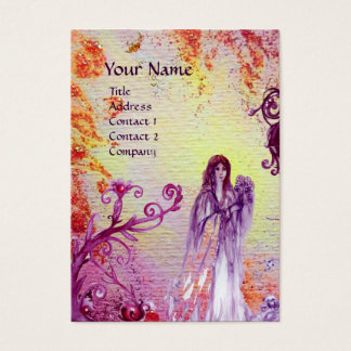 QUEEN GUINEVERE MONOGRAM BUSINESS CARD